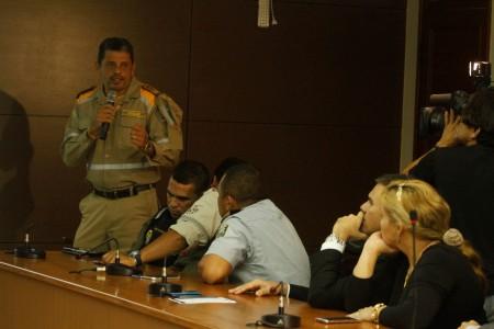 2017.09.27 - PA - Belém - Brasil: Reunião de órgãos de segurança pública sobre as procissões do Círio 2017. Agente Chagas.  Foto: Oswaldo Forte.
