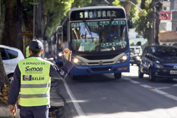 Sistema BRS começa a vigorar em três vias de Belém