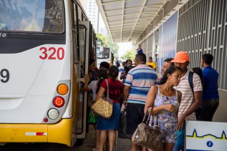 Integração entre linhas começa a funcionar no Terminal São Brás. Foto: Fernando Sette