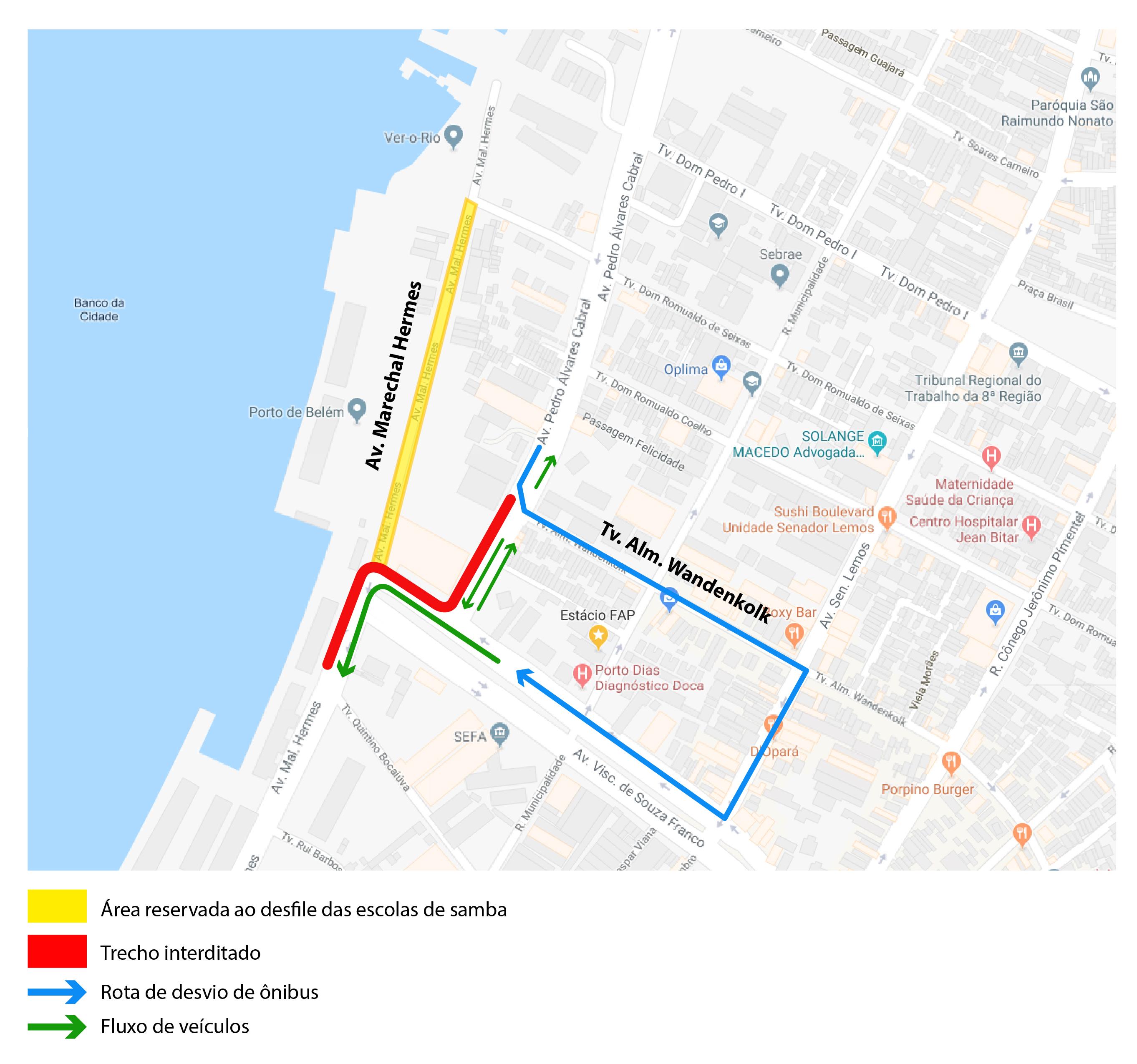 ce2f400c56a Desfile Oficial do Carnaval 2018 altera trânsito no bairro do ...