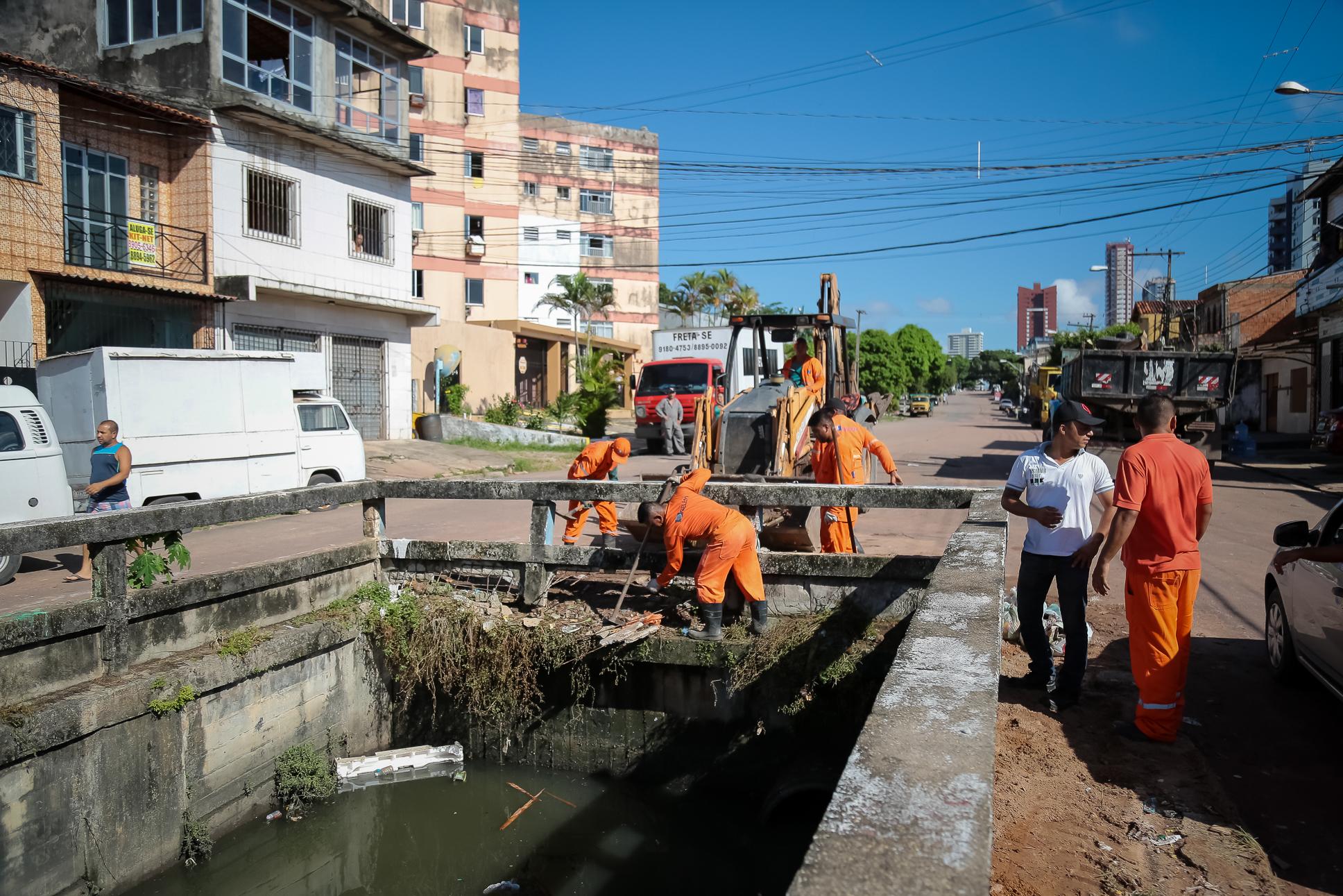 CANAL DA VILETA COM CANAL DA LEAL MARTINS   ---FOTO UCHOA SILVA-Agência Belém