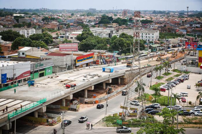 Segunda etapa das obras nas rampas do viaduto do BRT ocorre neste fim de semana