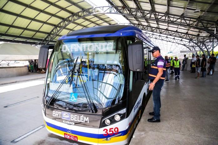 BRT terá funcionamento alterado durante o Círio