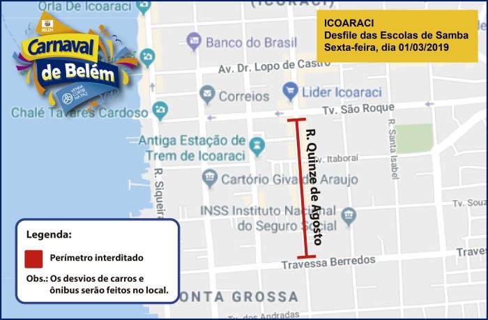 Mapa - Interdição e desvio de rota de ônibus - Outeiro-04
