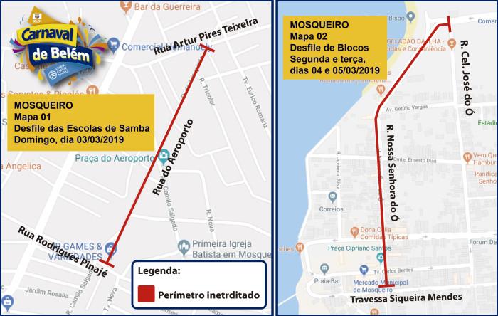 Mapa - Interdição e desvio de rota de ônibus - Outeiro-05