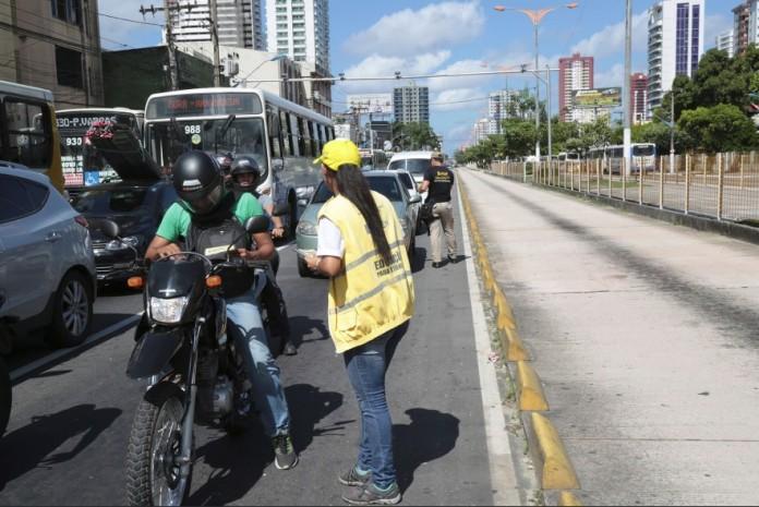 Trechos da pista do BRT serão interditados para reparos