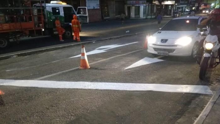 Prefeitura de Belém inicia serviço para melhorar acesso de veículos à Feira da Bandeira Branca
