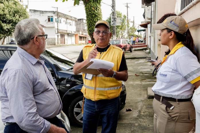 SeMOB faz pesquisa sobre mudança viária no bairro do Telégrafo