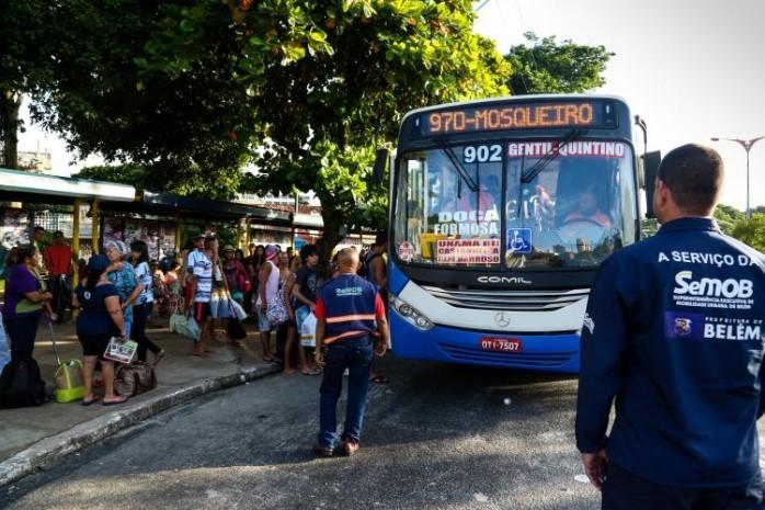 Prefeitura de Belém garante reforço na frota de ônibus para o feriado