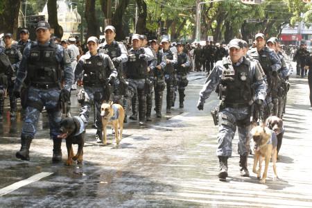 2015.09.07 - PA - Belém - Brasil: Desfile Militar de 7 de Setembro, alusivo ao Dia da Independência do Brasil.
