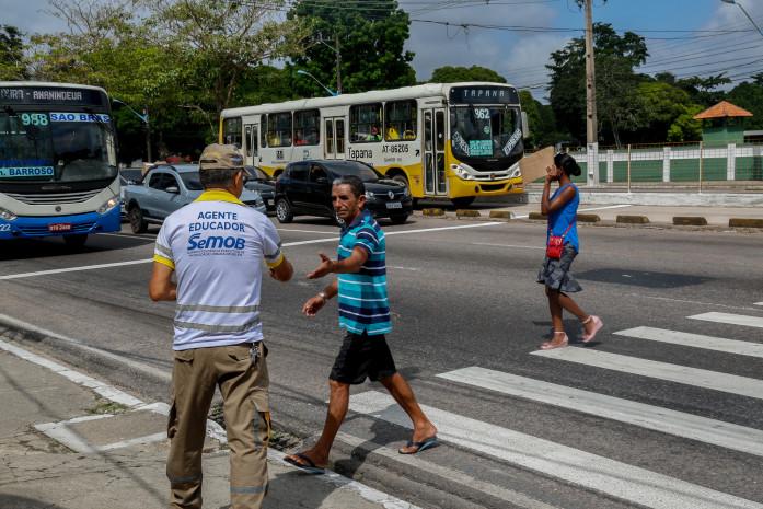 Ação educativa abre a Semana Nacional do Trânsito em Belém