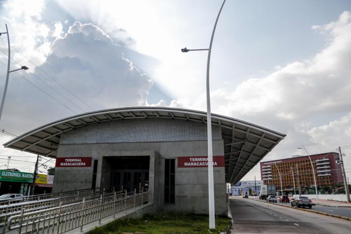 Integração no terminal Maracacuera deverá ser realizada mediante apresentação do cartão de acesso