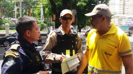 A ação foi promovida pela Superintendência Executiva de Mobilidade Urbana de Belém (SeMOB) e contou com o apoio da Guarda Municipal de Belém (GMB).