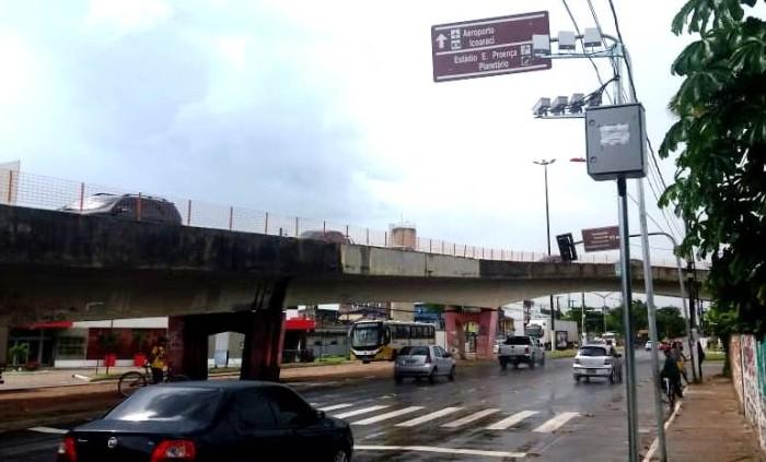 Novos radares começam a ser instalados em Belém