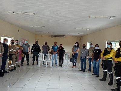 Todos os representantes dos órgãos de segurança pública estiveram presentes à reunião da Operação Semana Santa.