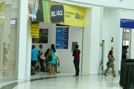 2018.06.06 - PA - Belém - Brasil: Atendimento Bel Fácil do Parque Shopping.
